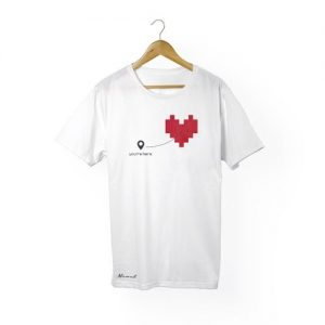 camiseta hombre you are here
